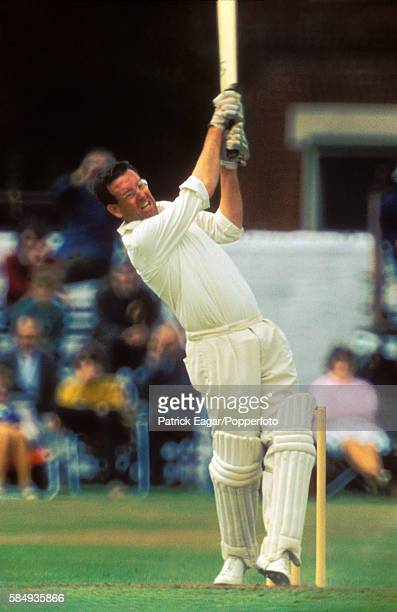 Roy Marshall batting for Hampshire during his innings of 81 in the John Player League match between Hampshire and Derbyshire at Southampton 25th July...
