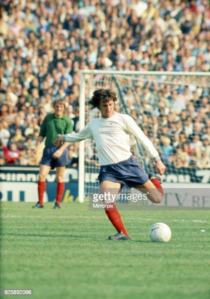 Roy McFarland of Derby, Chelsea 1 v Derby County 1, League Division One. Stamford Bridge, 18th September 1971.