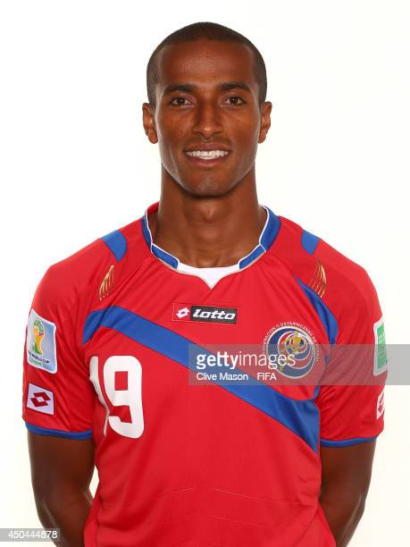 Roy Miller of Costa Rica poses during the official FIFA World Cup 2014 portrait session on June 10 2014 in Sao Paulo Brazil