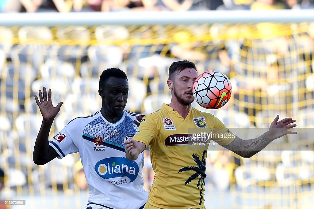 A-League Rd 22 - Central Coast v Melbourne