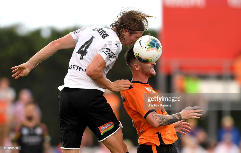A-League Rd 6 - Brisbane v Melbourne City : News Photo