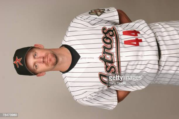 Roy Oswalt of the Houston Astros poses during photo day at Osceola County Stadium on February 28 2007 in Kissimmee Florida