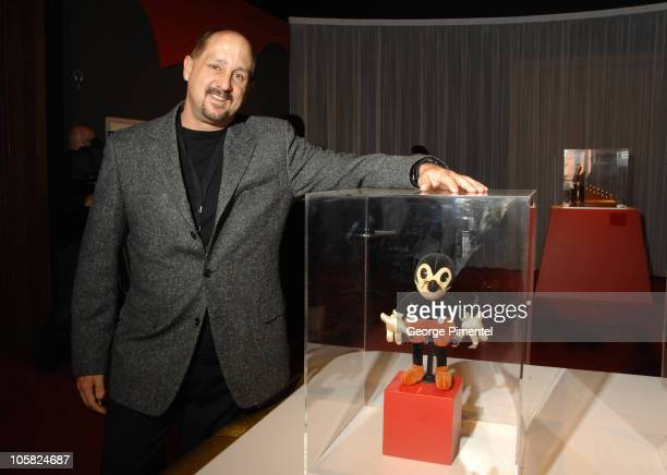 Roy P Disney Jr during Once Upon A Time Walt Disney Exhibition at Montreal Museum of Fine Art in Montreal Quebec Canada