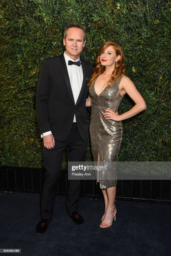 Roy Price and Lila Feinberg attend Charles Finch and CHANEL Pre-Oscar Awards Dinner at Madeo Restaurant on February 25, 2017 in Los Angeles, California.