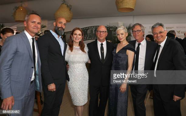 Roy Price Jason Ropell Julianne Moore Bob Berney Michelle Williams Todd Haynes and Victor Hadida attend the Amazon Studios official after party for...