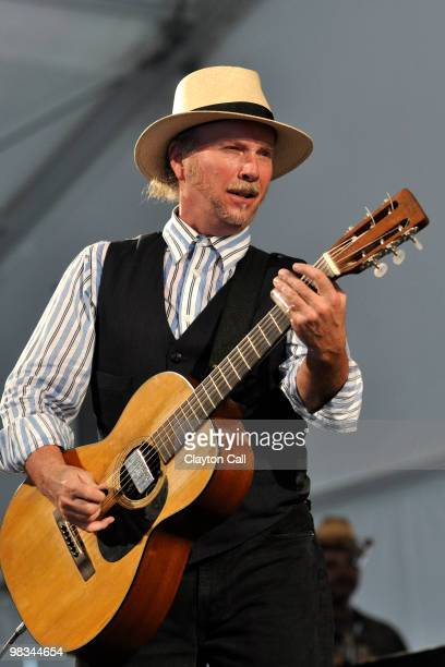 Roy Rogers performing at the New Orleans Jazz Heritage Festival on April 24 2009