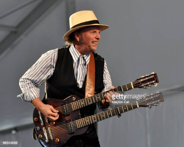 Roy Rogers performing at the New Orleans Jazz & Heritage Festival on April 24, 2009.