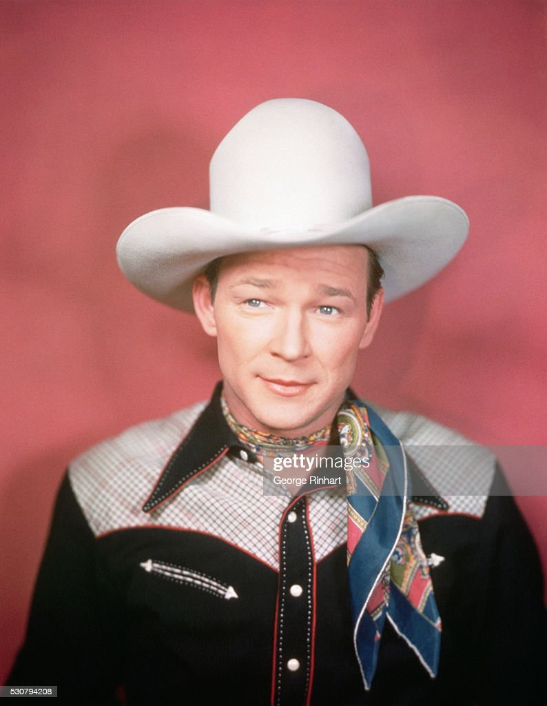 Roy Rogers in a Cowboy Hat : News Photo