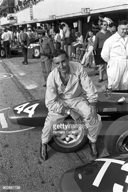 Roy Salvadori LolaClimax Mk4 Grand Prix of Italy Autodromo Nazionale Monza 16 September 1962