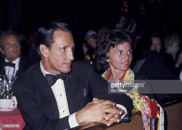 Roy Scheider and Cynthia Scheider during 48th Annual Academy Awards Governor's Ball at Beverly Hilton Hotel in Beverly Hills California United States