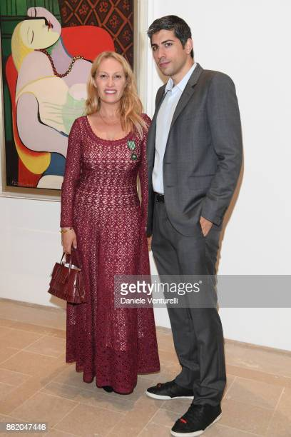 Roy Sebag attends a cocktail in honour of Diana Widmaier Picasso and Alexander SC Rower awarded with the Chevalier and Officier de l'Ordre des Arts...