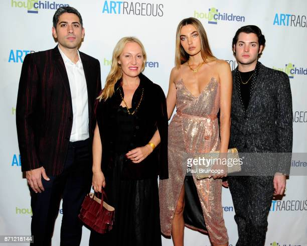 Roy Sebag Diana Picasso Alina Baikova and Peter Brant Jr attend the Event Name ARTrageous Gala Dinner Art Auction Celebrating Hour Children 30th...