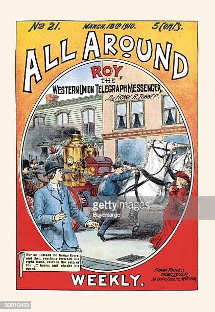 Roy the Western Union Telegraph Messenger