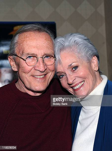 Roy Thinnes and Lee Meriwether attends the Monster Mania Convention at NJ Crowne Plaza Hotel on March 12 2011 in Cherry Hill New Jersey