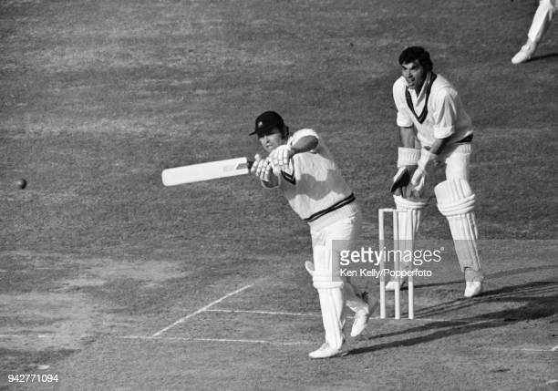 Roy Virgin batting for Northamptonshire during the Gillette Cup Final between Lancashire and Northamptonshire at Lord's Cricket Ground London 4th...