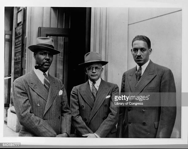 Roy Wilkins Walter White and Thurgood Marshall