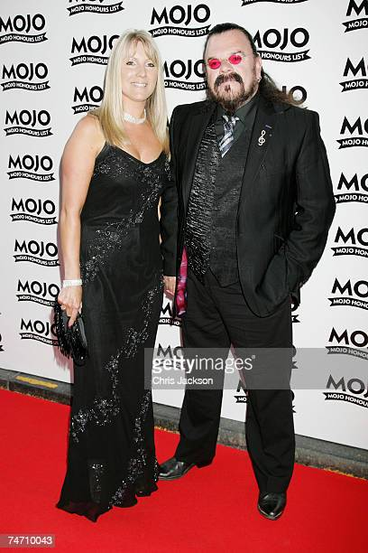 Roy Wood and guest arrive at The MOJO Honours List Awards at The Brewery on June 18 2007 in London England