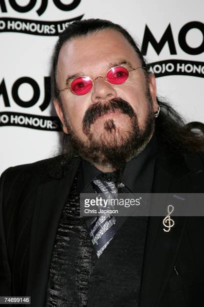 Roy Wood arrives at The MOJO Honours List Awards at The Brewery on June 18 2007 in London England