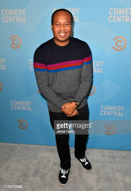 Roy Wood Jr attends Comedy Central's Emmy Party at Dream Hotel on September 21 2019 in Hollywood California