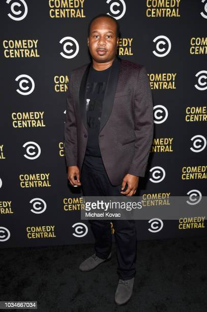 Roy Wood Jr attends Comedy Central's Emmys Party at The Highlight Room at the Dream Hotel on September 16 2018 in Hollywood California