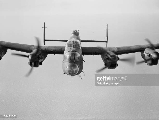 Bomber Command A Lancaster III of No 619 Squadron based at Coningsby 14 February 1944