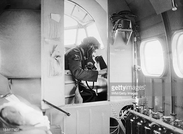 Royal Air Force Coastal Command 19391945 The interior of a Lockheed Hudson Mk I of No 206 Squadron RAF June 1940