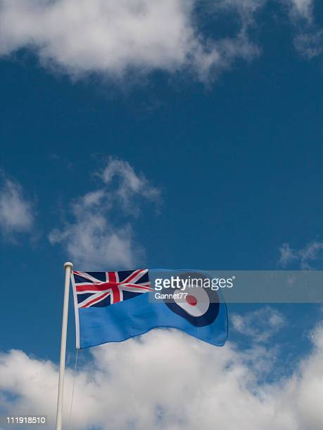 royal air force ensign - raf stock pictures, royalty-free photos & images