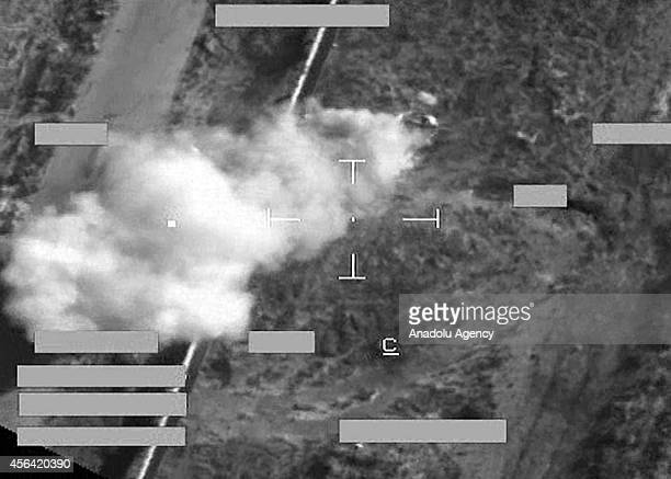 Royal Air Force jets have carried out their first strikes on ISIL targets and UK's Ministry of Defence share the photos of strikes on the ministry's...