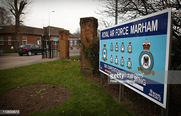 Royal Air Force Marham on March 21 2011 in Marham England The Pentagon says that United States and United Kingdom military forces have fired more...
