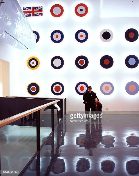 Royal Air Force Museum Hendon, London, United Kingdom, Architect Feilden Clegg Bradley Architects, Royal Air Force Museum Hendon Entrance With Raf...