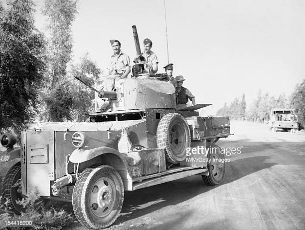 Royal Air Force Operations In The Middle East And North Africa 19391943 A Fordson Armoured Car of No 2 Armoured Car Company RAF operating with...