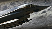 Royal Air Force RAF Typhoon fighter Eurofighter jet aerial air