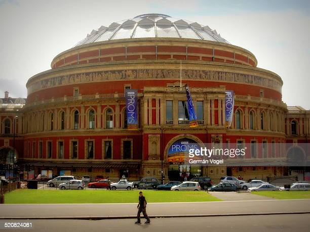 Royal Albert Hall building by South Kensington
