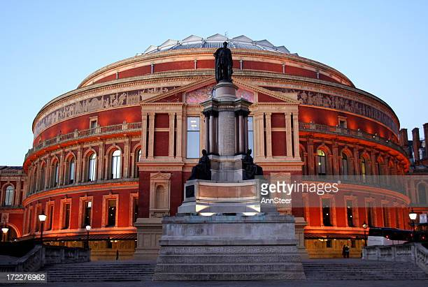 Royal Albert Hall in the early evening