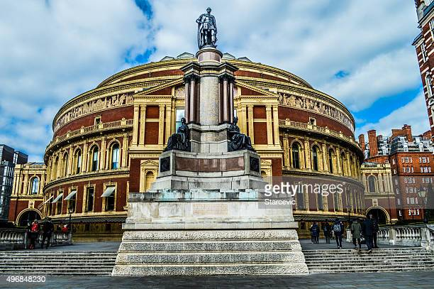 royal albert hall - london, uk - monument station london stock photos and pictures