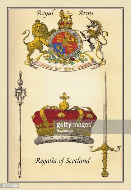 Royal Arms Regalia of Scotland