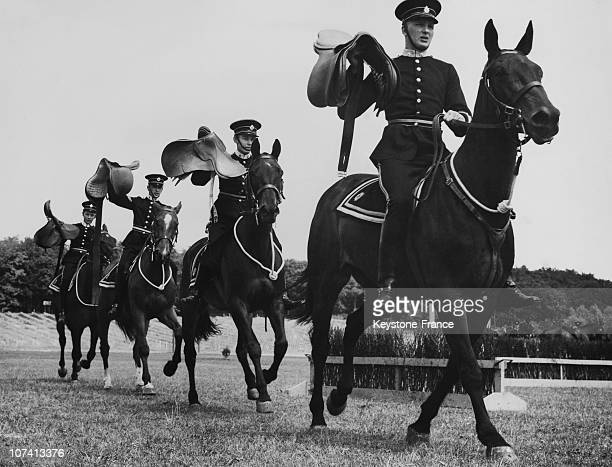 Royal Army Service Corps Rehearsal At Aldershot In England On June 5Th 1955