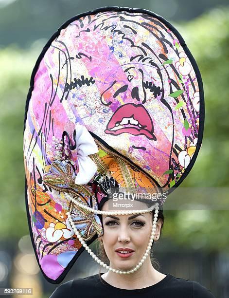 Day 3 Ladies Day hat fashion Royal Ascot ABC0612