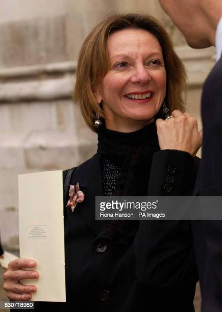Royal Ballet Artistic Administrator Jeanetta Laurence at Westminster Abbey central London Friday September 8 2001 attending the memorial service for...
