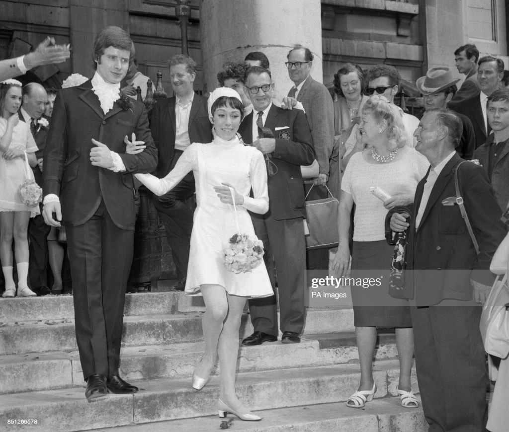Royal Ballet Dancers David Wall And Alfreda Thorogood Leave After Their Wedding At St Martin