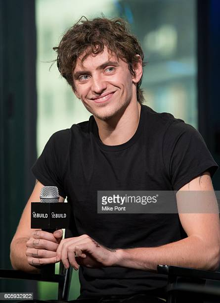 Royal Ballet principal dancer Sergei Polunin attends the BUILD Speaker Series to discuss the film Dancer at AOL HQ on September 15 2016 in New York...