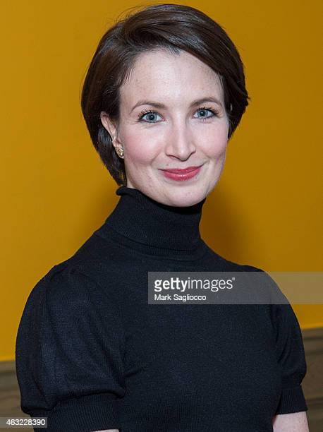 Royal Ballet's Principal Dancer Lauren Cuthbertson attends the Royal Ballet's The Winter Tale Reception at the Crosby Street Hotel on February 11...