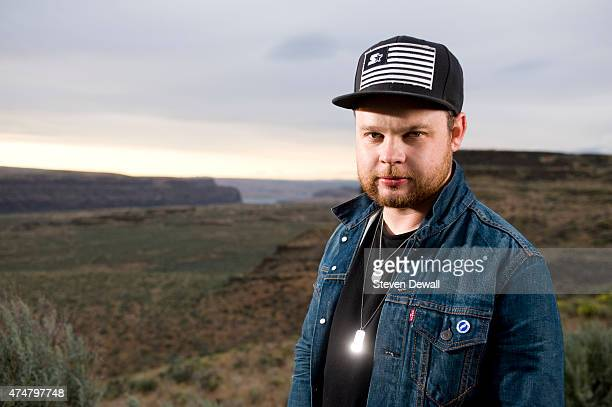Royal Blood poses for a portrait at the Sasquatch Music Festival