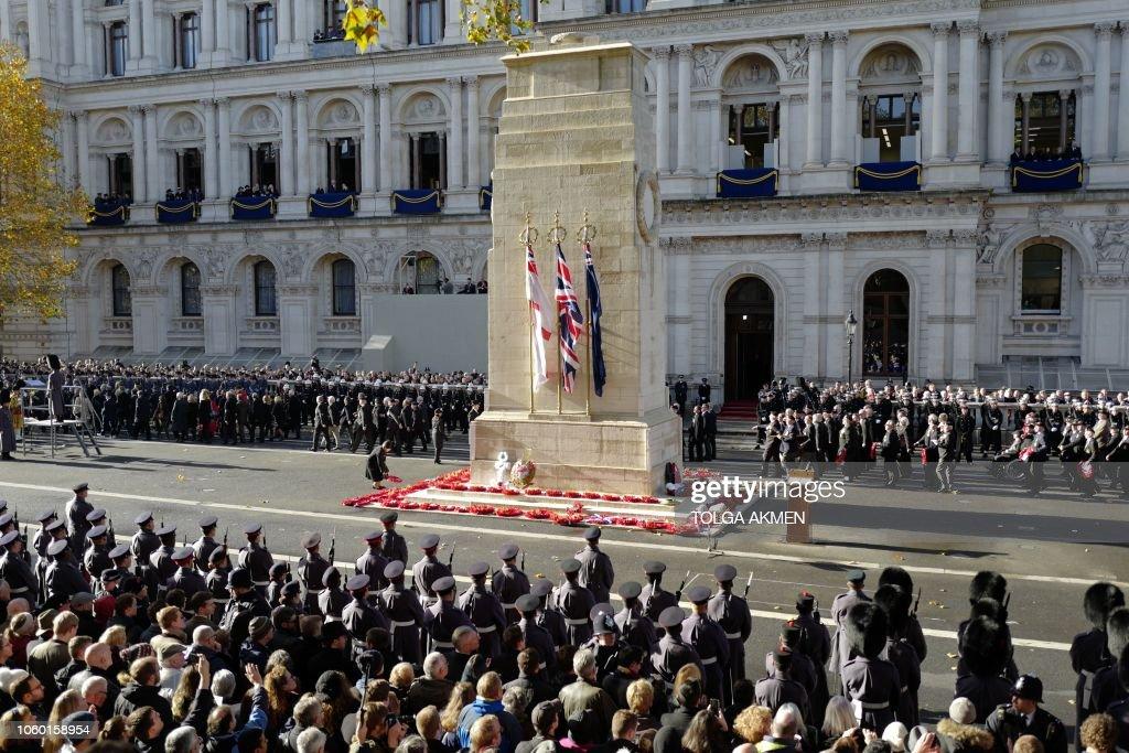 BRITAIN-MILITARY-WAR-HISTORY-ROYALS : News Photo