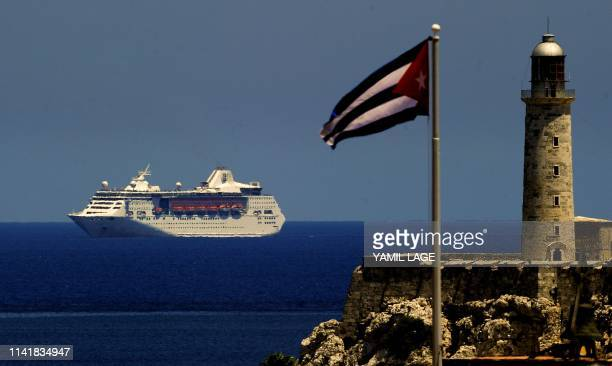 Royal Caribbean cruise sails into the Havana harbour on May 6 2019 The activation of Chapter III of the HelmsBurton Act that seeks to intensify the...