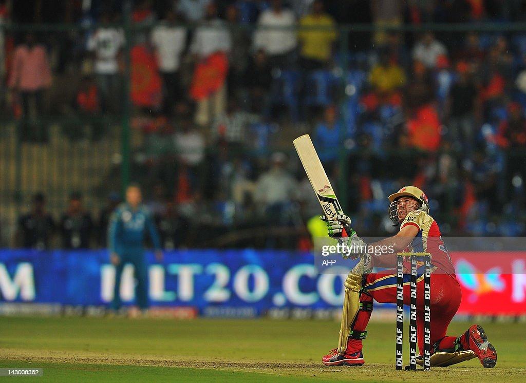 Royal Challengers Bangalore batsman AB D : News Photo