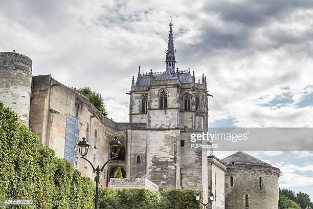 royal castello di amboise-francia - pjphoto69 foto e immagini stock