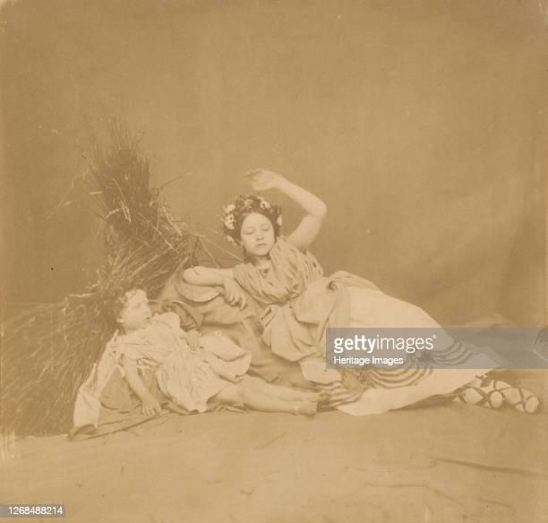 Royal Children in Tableau of the Seasons 1854 Artist Roger Fenton