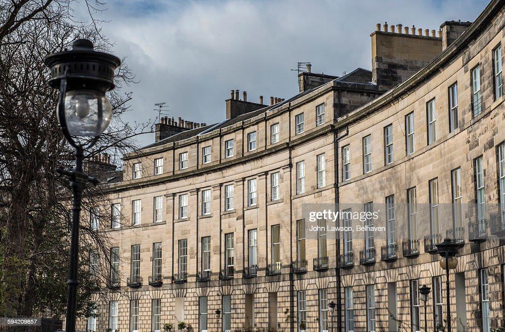 Royal Circus in Edinburgh's New Town : Stock Photo