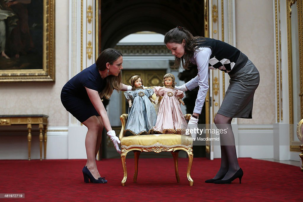 Queen Elizabeth II Childhood Toys Go On Display : News Photo